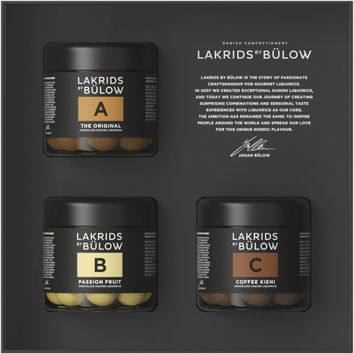 Lakrids Gift Pack - A, B & C Black Box