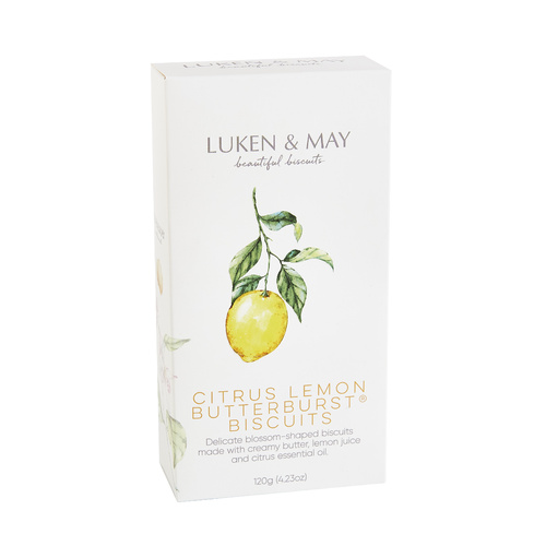 L & M Butterburst Gift Box - Citrus Lemon 120g